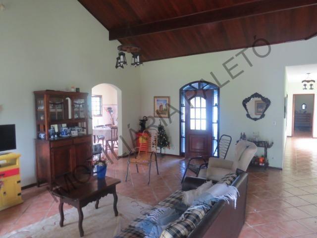 REF 1152 Sítio 4 alqueires, casa sede, piscina, açudes, curral, rio, Imobiliária Paletó - Foto 4