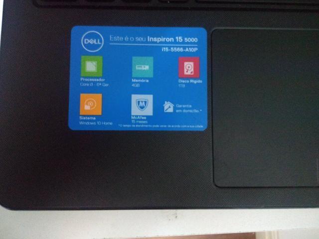 Notebook Dell i15-5566-A10P + Impressora Epson L380