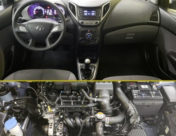 Hyundai Hb20s 1.0 - Estado de Okm - Completo Impecável - Foto 7