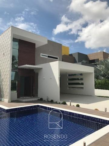 Casa nova alto padrão no condomínio Reserva do Vale