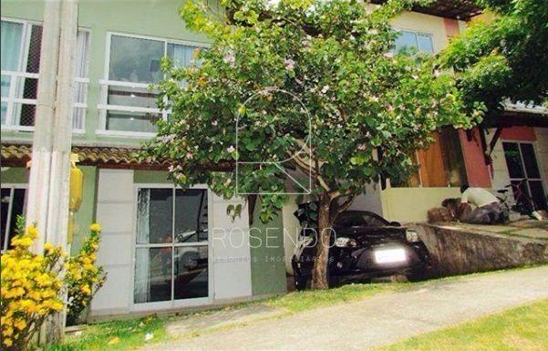 Casa duplex em condomínio fechado na serraria com 3 quartos sendo 2 suítes