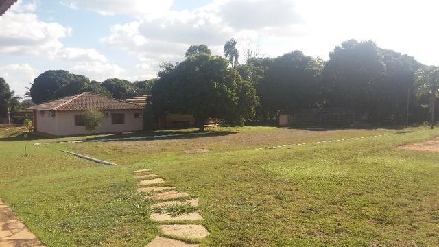 Alugo Sitio: Piscina|Campo Futebol\ Churrasqueira\ Qd. de Voley Ponte Alta - Gama - Foto 4
