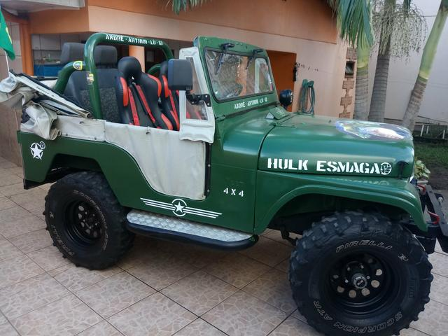 Jeep Willys 1963 TOP E BARBADA