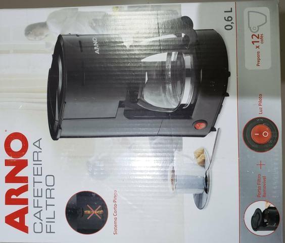 Cafeteira Arno filtro Nova