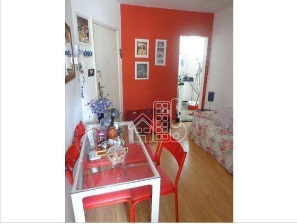 Apartamento com 1 dormitório à venda, 50 m² por R$ 302.100,00 - Icaraí - Niterói/RJ - Foto 15