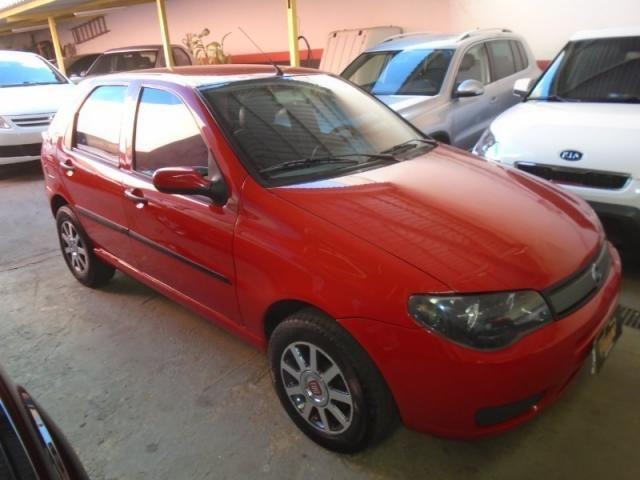 Fiat Palio 1.0 Vermelho - Foto 5