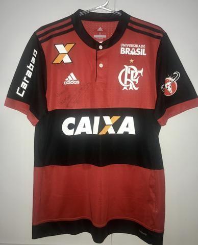 Camisa Flamengo Adidas 2017 Autografada - Esportes e ginástica ... cc3211657c0e1