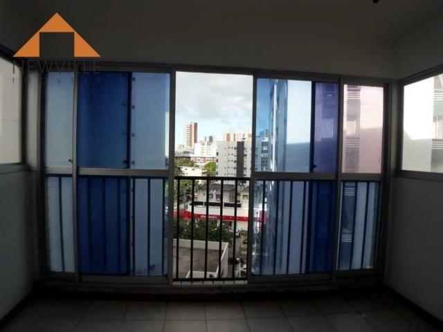 Apartamento com 2 quartos para alugar, 97 m² por R$ 2.200/mês - Graças - Recife - Foto 3