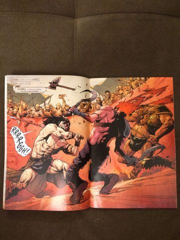 """Revistas em quadrinhos (HQs) do """"Conan, o bárbaro"""" - Foto 3"""