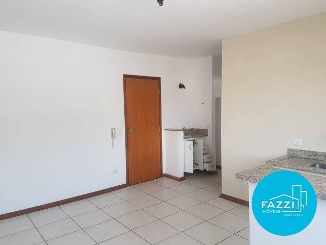 Flat com 1 dormitório para alugar por R$ 700,00/mês - Jardim Cascatinha - Poços de Caldas/ - Foto 2