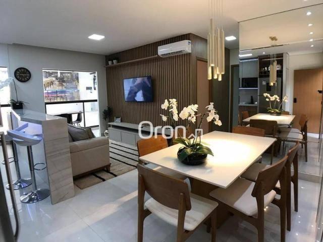 Apartamento com 2 dormitórios à venda, 59 m² por R$ 257.000,00 - Parque Amazônia - Goiânia - Foto 9