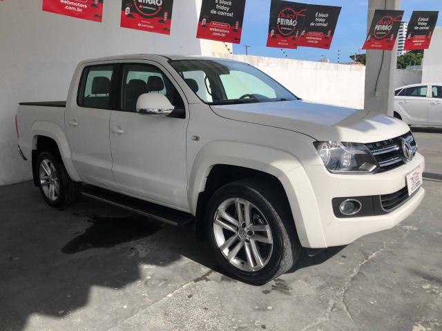 AMAROK 2015/2016 2.0 HIGHLINE 4X4 CD 16V TURBO INTERCOOLER DIESEL 4P AUTOMÁTICO - Foto 3