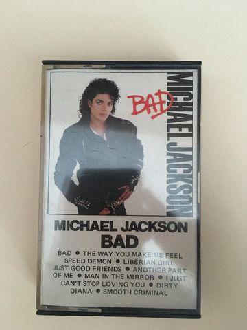 Fita k7 Michael Jackson