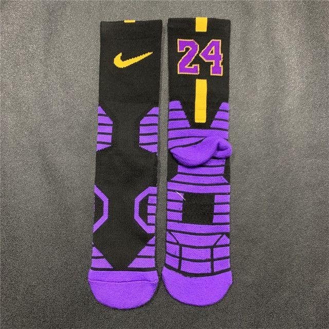 Meias Nike Kobe Bryant Black Mamba Los Angeles Lakers