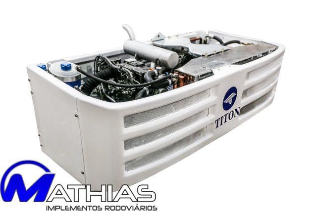 Aparelho de diesel bau 8.50mts gás R404 novo Mathias implementos - Foto 3