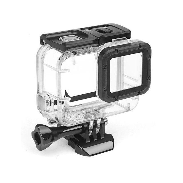 GoPro assessórios case estanque Hero 7 6 5 acrílico transferente - Foto 6