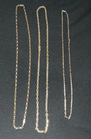 Cordão Cordões Corrente de Ouro 18 k