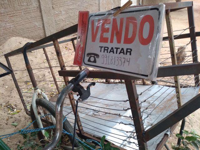 VENDO CARROÇA A 300$ E BICICLETA CARGUEIRA MONARK  A 350$PREÇO A NEGOCIAR - Foto 5
