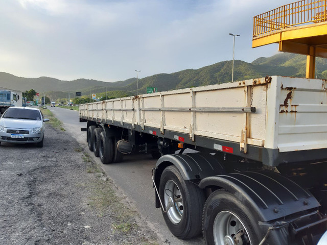 Carreta Reboque Krone S Cot Cabb carga seca com pino de container ANO 1994   - Foto 4
