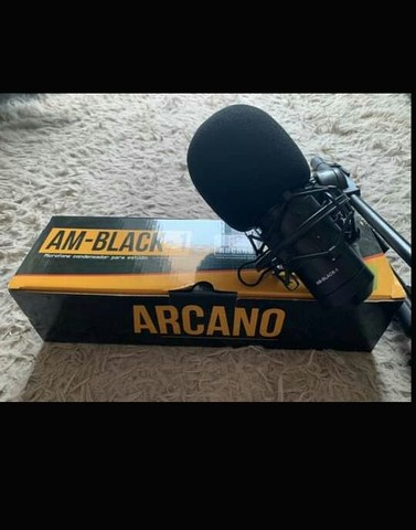 Microfone condensador arcano am black 1