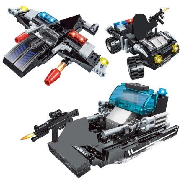 Lego Blocos de Montar Police Presente Swat Brinquedo  - Foto 4
