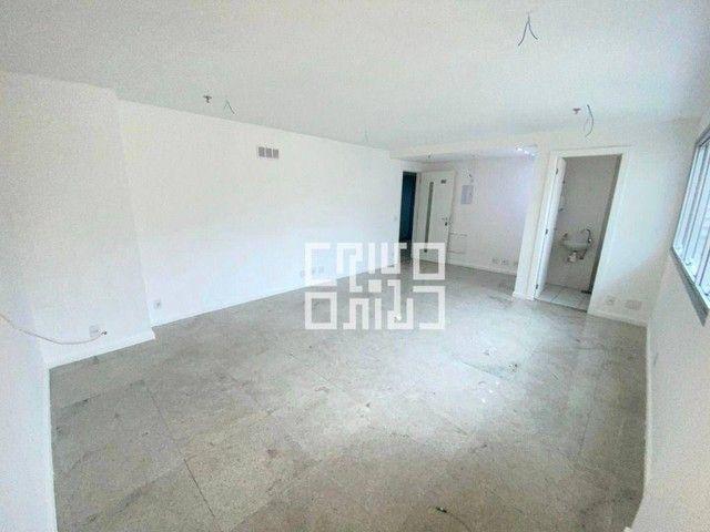 Sala para alugar com vaga. Piso em GRANITO,, 30 m² por R$ 1.200/mês - Icaraí - Niterói/RJ - Foto 3