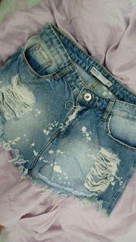 Short Jeans Boyfriend Destroyed