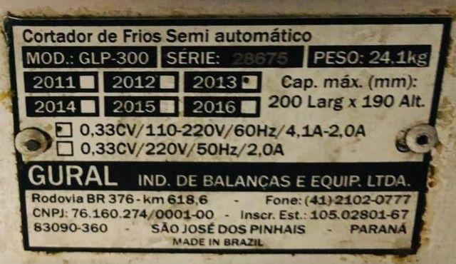 Cortador de frios Gural GLP 300 - Foto 5