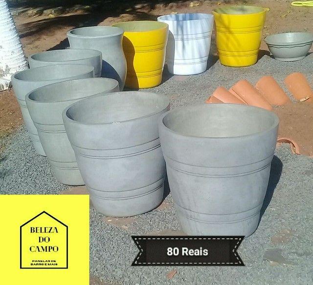 Vasos de cimento - Foto 2