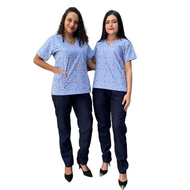 Pijama Cirúrgico Falus - Foto 4