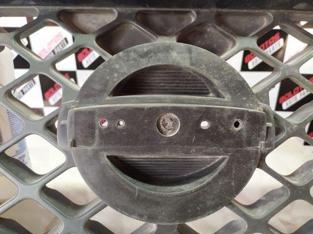 Grade Dianteira Preta Original Nissan Frontier 08/16 *COM Detalhes - Foto 3