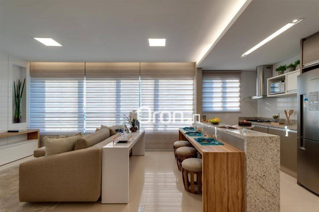 Apartamento com 3 dormitórios à venda, 76 m² por R$ 430.000,00 - Jardim Europa - Goiânia/G