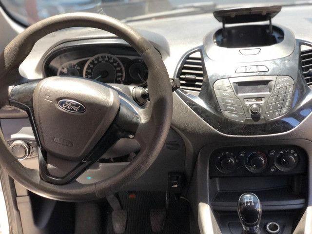 Ford K.A Sedan 1.5-(Ano 2015)-Completo com GNV. Entrada de 3 Mil + (48X de R$ 859,00) - Foto 8