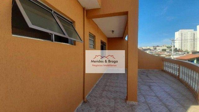 Sobrado com 4 dormitórios para alugar, 160 m² por R$ 2.500,00/mês - Cocaia - Guarulhos/SP - Foto 10