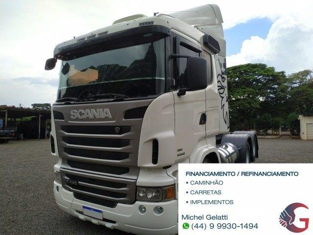 Scania g380 g420 volvo fh 440 460 mb iveco man carretas graneleiro cacamba - Foto 2
