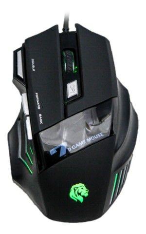 Mouse Gamer Com Fio 3200DPI Hayom MU2909 - Loja Dado Digital - Foto 4