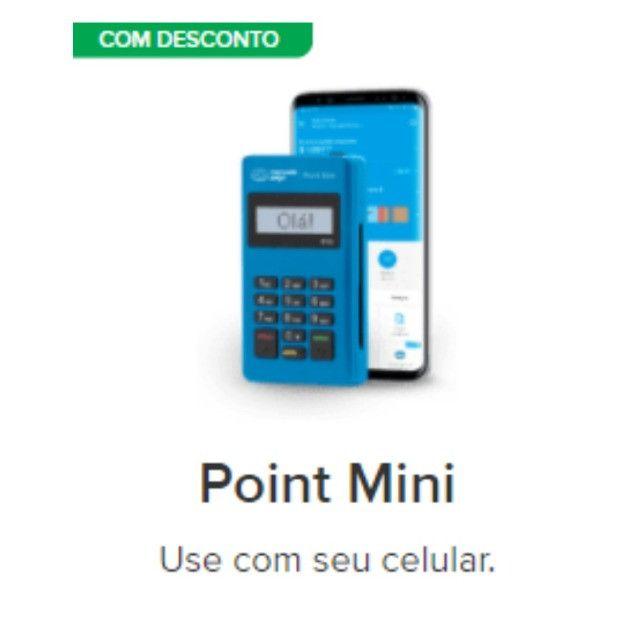 Maquininha De Cartão Point Mini Pronta Entrega Whatsapp * - Foto 2