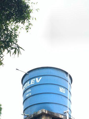 Caixa d´Água Fibra de Vidro 7500 l com Tampa ? Fortlev- USADA - Foto 3