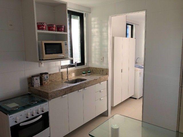Rio Ariaú-84m²- 3 qtos s/ 1 suíte + escritório- andar intermediário-Mobiliado- Miramar - Foto 3