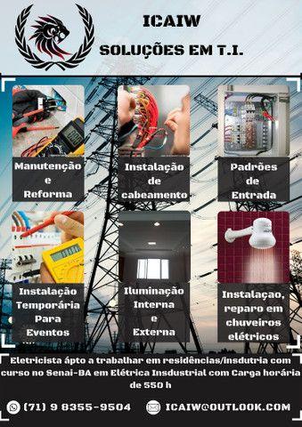 Eletricista Residencial e T.I