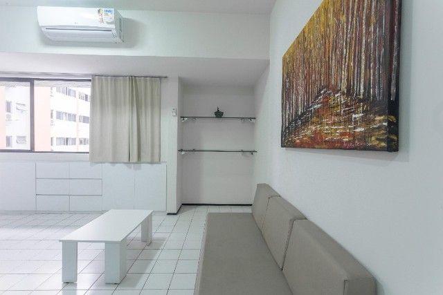 Flat 207 com 1 quarto completíssimo em Boa Viagem - Recife - PE - Foto 5