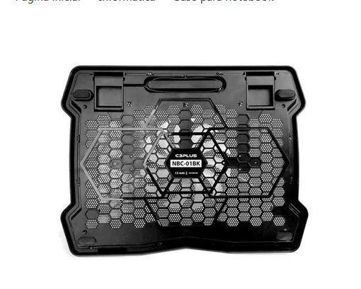 Cooler suporte para notebook c3plus - Foto 3