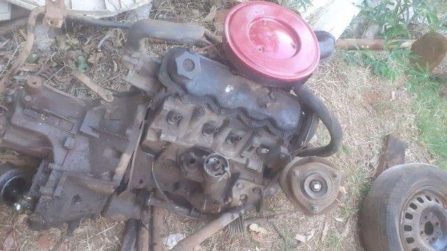 Motor e câmbio Fiat 1050