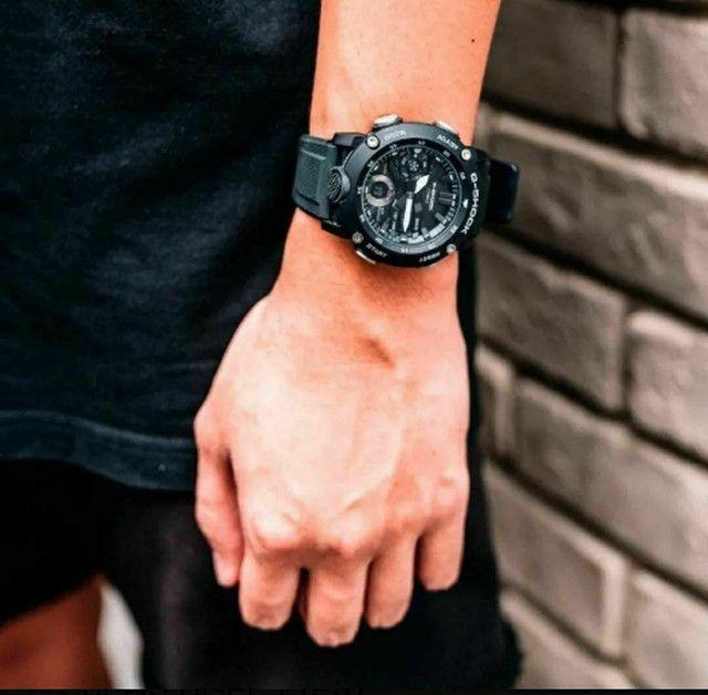 Relógio G-Shock GA-2000S-7ADR Carbon Core Guard nas cores Preto ou Branco<br><br> - Foto 4