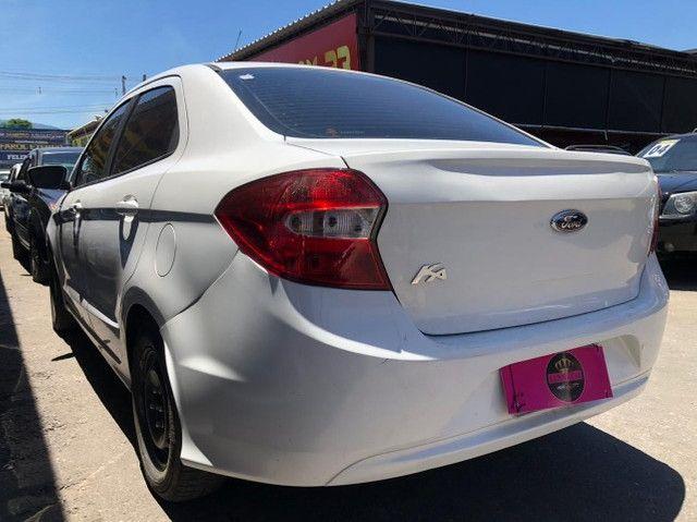 Ford K.A Sedan 1.5-(Ano 2015)-Completo com GNV. Entrada de 3 Mil + (48X de R$ 859,00) - Foto 6