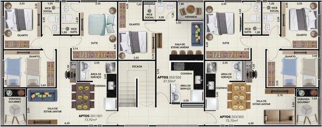 Oportunidade de Apartamento com 03 quartos no Bairro de Tambauzinho - Foto 6
