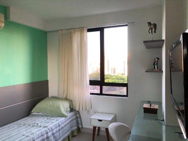 Rio Ariaú-84m²- 3 qtos s/ 1 suíte + escritório- andar intermediário-Mobiliado- Miramar - Foto 11