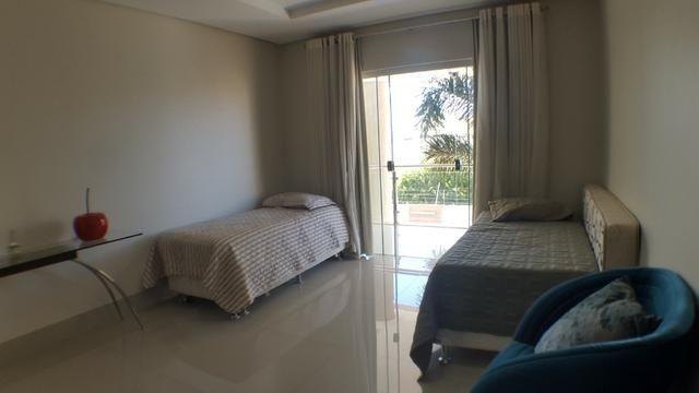 Sobrado 5 Suítes, 425 m², semi mobiliada, c/ lazer na 303 Sul - Foto 15