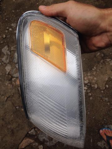 Lanterna farol do pisca lado motorista original corolla 93/97