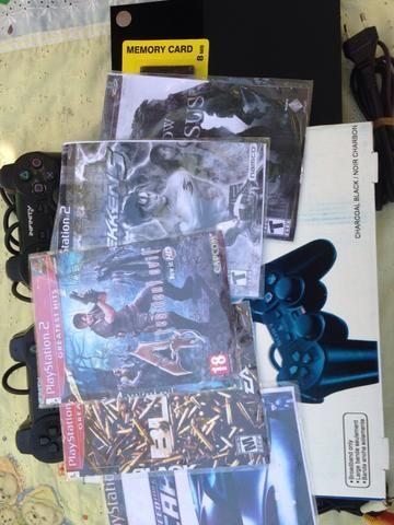 Playstation 2 Desbloqueado com caixa